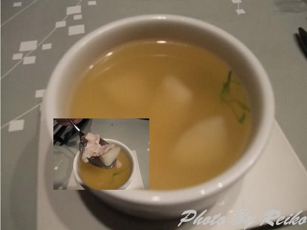 鮮梨豚肉湯