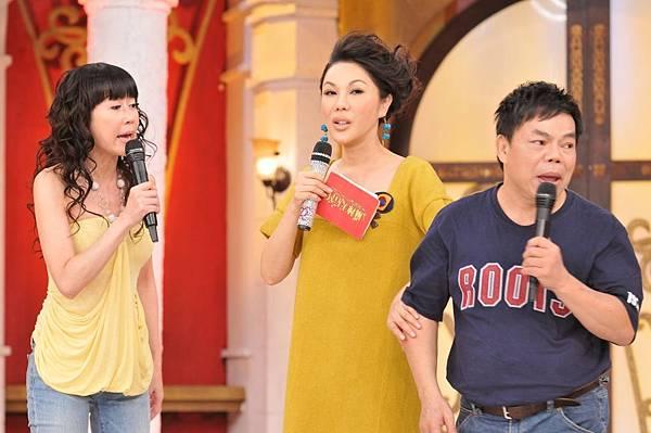 最後羅霈穎和蔡頭上眼吵架戲碼,讓利菁顯得有些尷尬.JPG