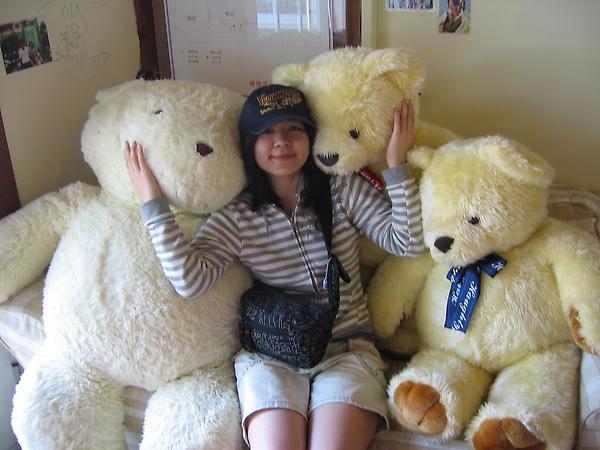餐廳的可愛熊們