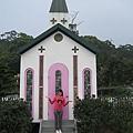 外面的小教堂造景