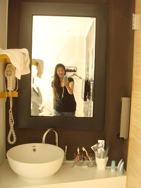 門口的鏡子~