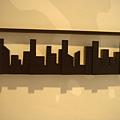 這也是一幅美麗的城市剪影~