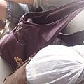 兩大袋行李,