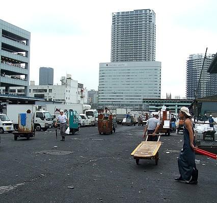 築地市場的早晨