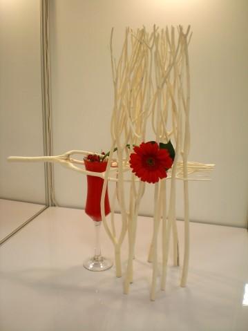 紅花與白籬