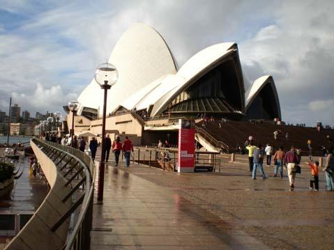 雪梨歌劇院外廣場