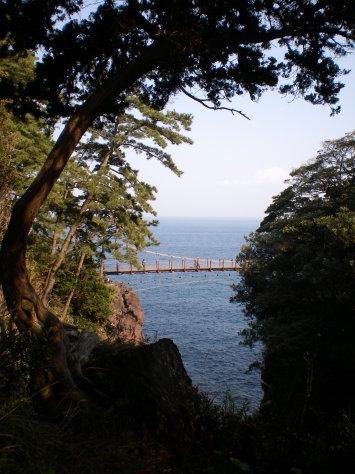 城崎海岸吊橋