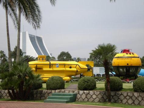 船的科學館庭院
