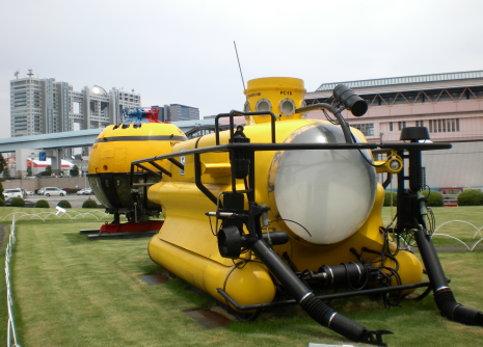 船的科學館戶外展示