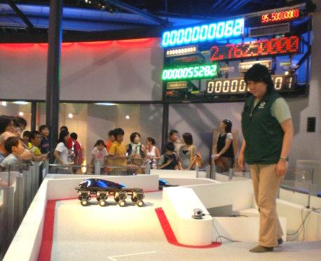機器人表演