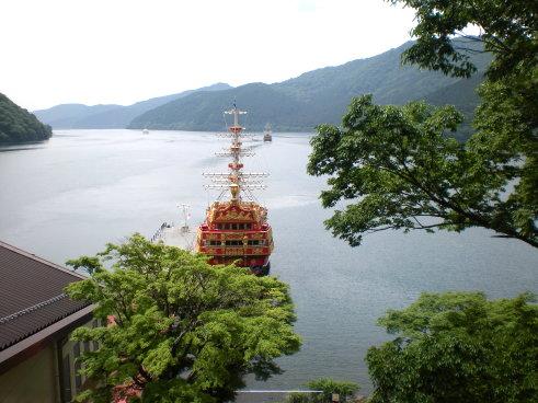 從纜車看海賊船