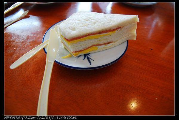 非常高級的三明治