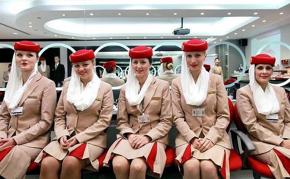 Emirates Airlines Flight Attendant