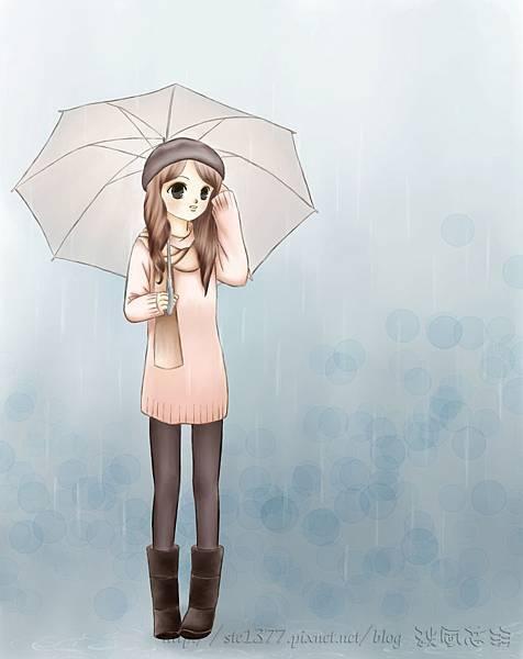 拿傘的女孩1