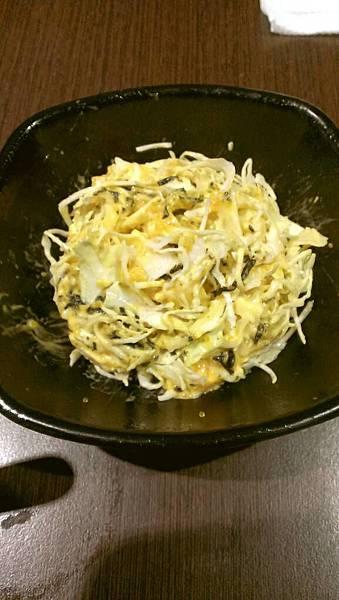 築地-海膽魚卵沙拉