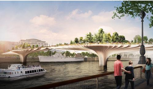 台北市立美術館 花園橋