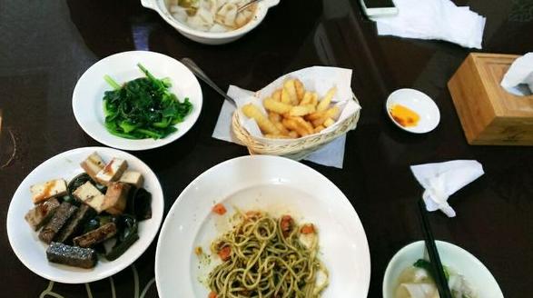 新竹好吃素食餐廳如心齋素食麵食館