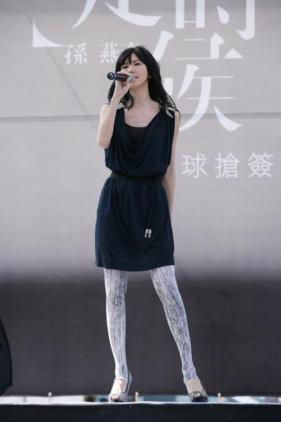 孫燕姿演唱「當冬夜漸暖」.JPG