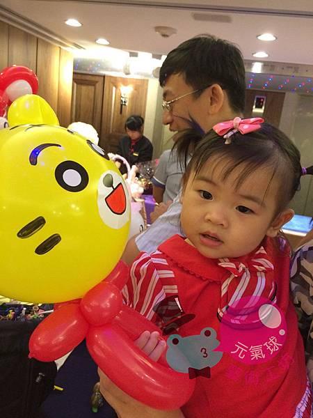 睿懋&莎莎婚宴折氣球