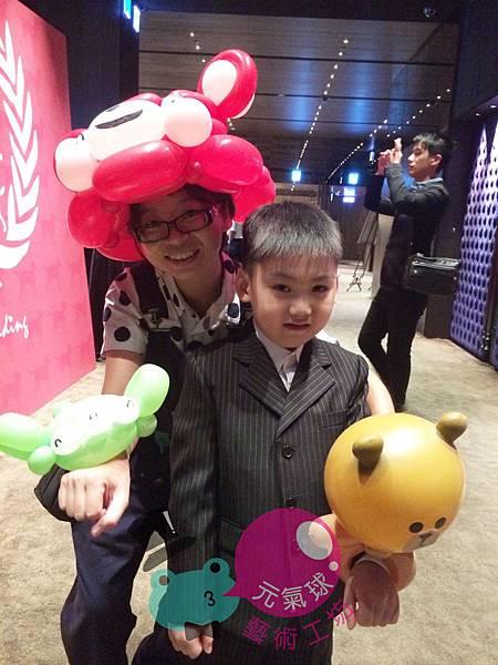 MR.KING&MRS.ANITA婚宴折氣球