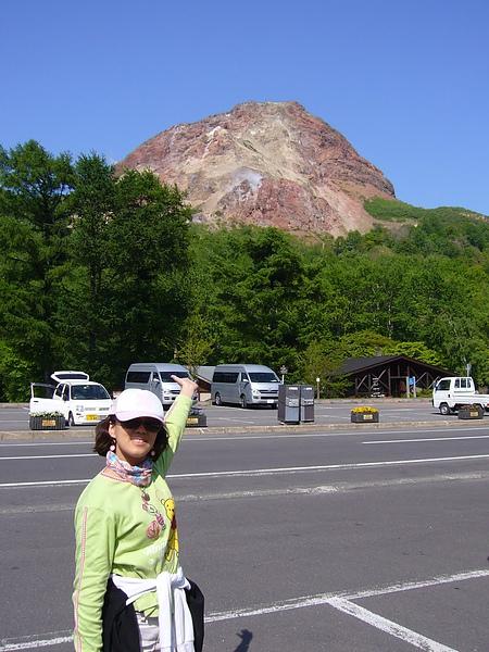 昭和新山-活火山