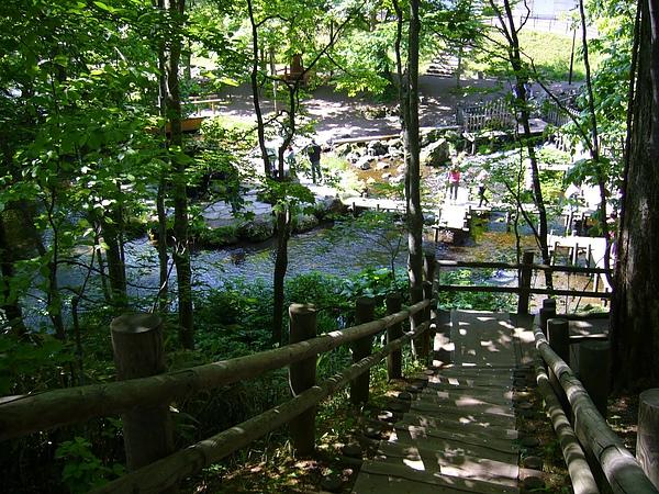 羊蹄山山麓的名水公園