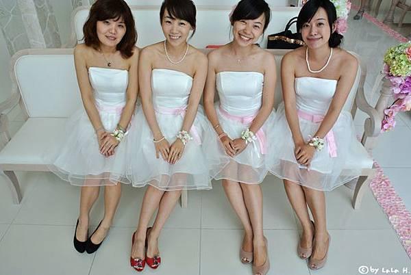 在沖繩當假伴娘
