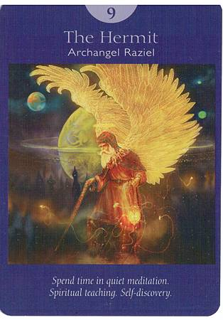 angel hermit