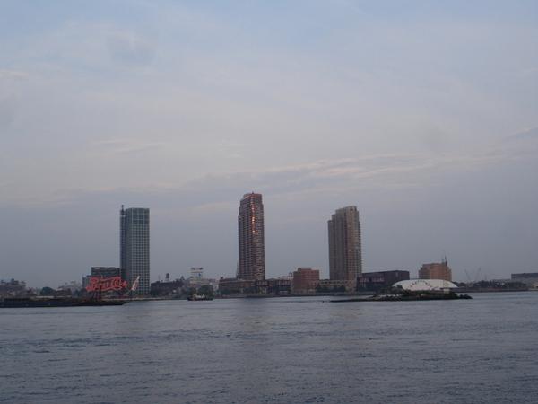 觀景的河岸