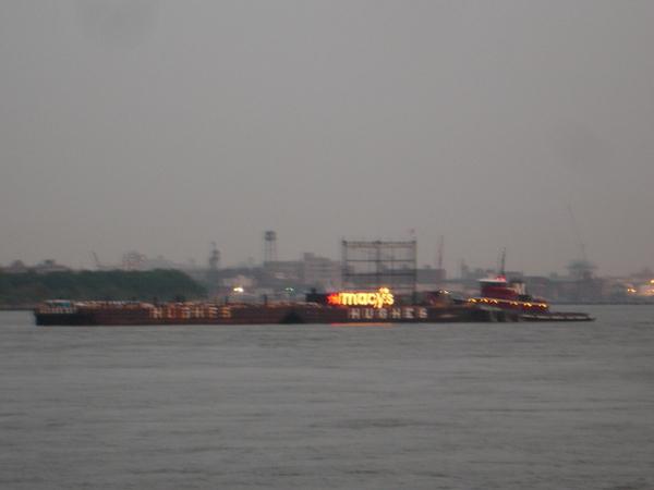 Macy's Barge