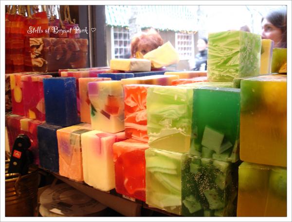 超鮮豔又香得不得了的肥皂