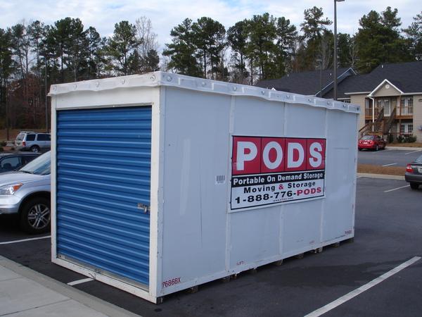PODS搬家貨櫃