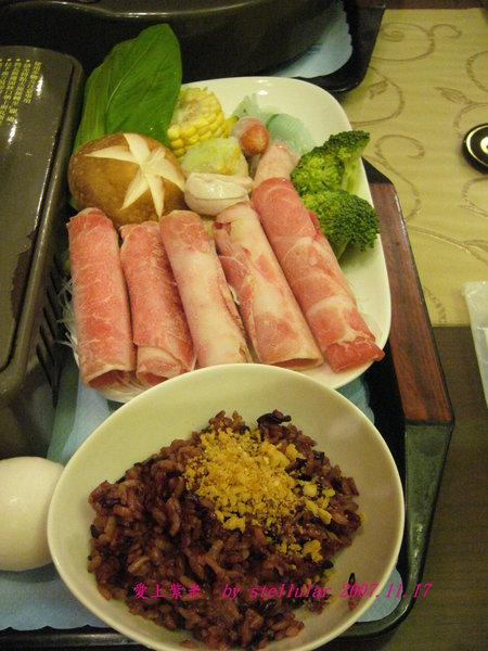南瓜鍋的豬內盤