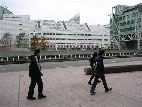 海牙市中心許多建物都滿新奇的。