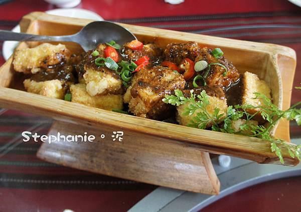 馬告醬脆皮豆腐