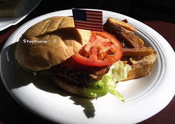 辣捷克牛肉漢堡