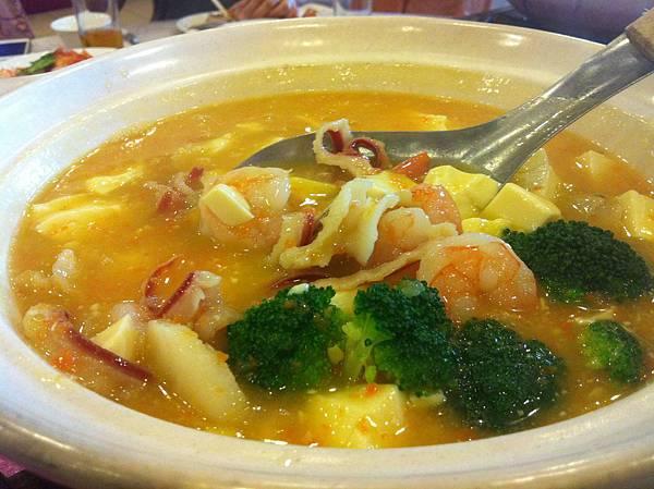 蟹黃海鮮煲1