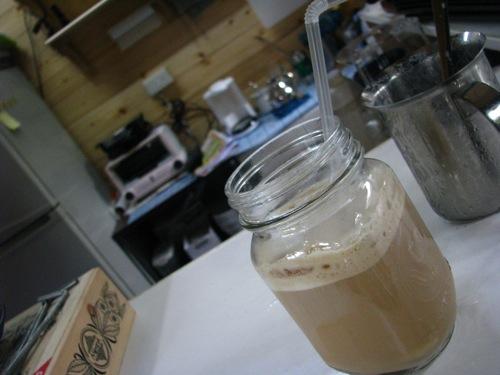 老師調的冰咖啡