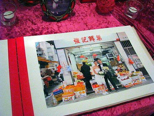 在香港拍的婚紗照
