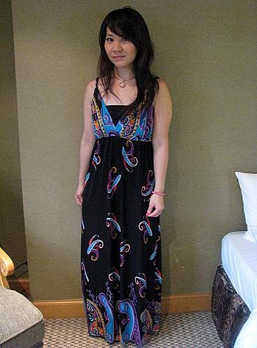 我的長洋裝