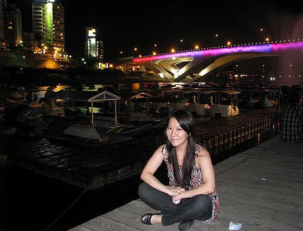 河邊的美景