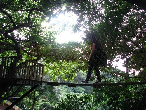 繩索小吊橋