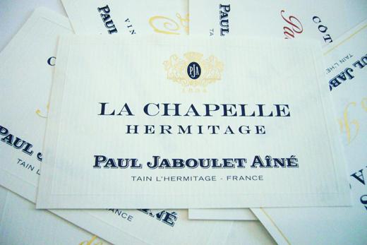 Paul Jaboulet 的新酒標