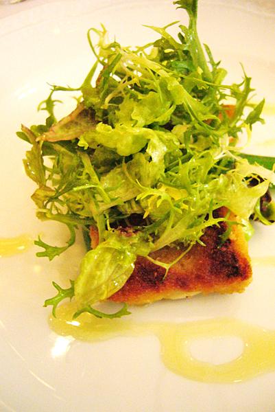 香煎油帶魚沙拉