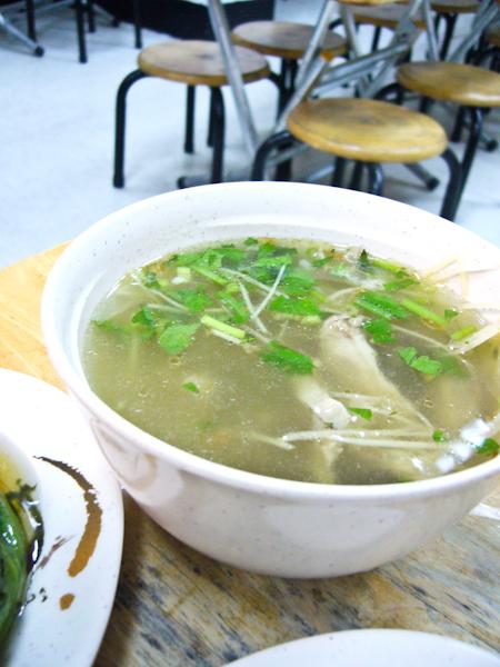 薑絲肝連湯
