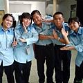 TTS members ,from left:PooiSie,Cass,Oscar,BiBi,BongHui