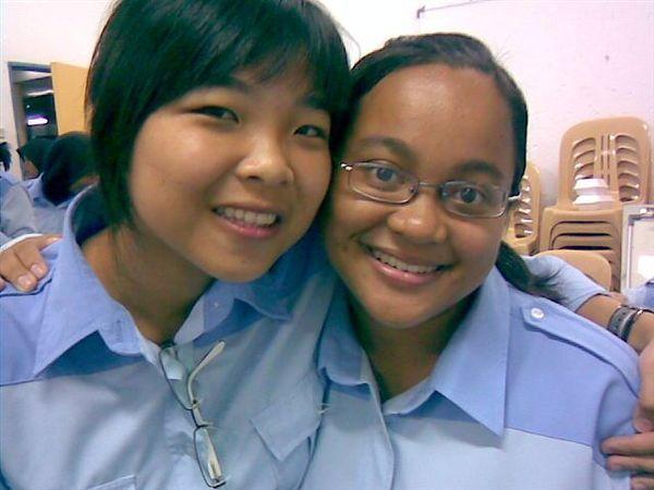 "BongHui and Jen aka ""otak kuning"""