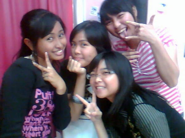 gathering with Dewi and Aiza