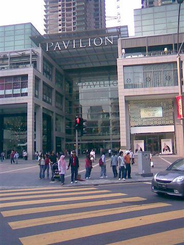 finally we arrived Pavilion !!