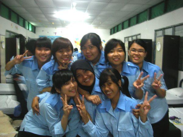 P4 girls